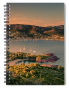 Red Mountains Spiral Notebook