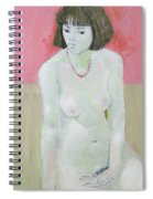 Red Necklace Spiral Notebook