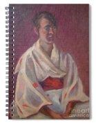 Red Obi Spiral Notebook