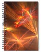 Red Orange Wishes Spiral Notebook
