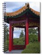 Red Pagoda Spiral Notebook