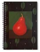 Red Pear Spiral Notebook