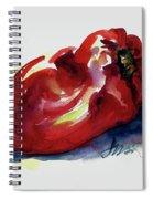 Red Pepper Spiral Notebook