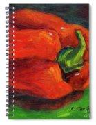 Red Pepper Still Life Spiral Notebook