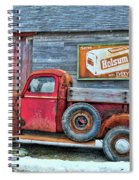 Red Pick Up Spiral Notebook