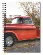 Red Pick-up Spiral Notebook