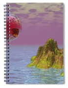 Red Planet Fantasy Spiral Notebook
