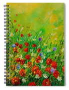 Red Poppies 450708 Spiral Notebook