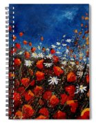 Red Poppies 451108 Spiral Notebook