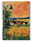 Red Poppies In Gendron Spiral Notebook