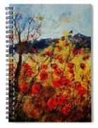 Red Poppies In Provence  Spiral Notebook