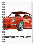 1997  Porsche 993 Twin Turbo R Spiral Notebook
