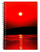 Red Power Spiral Notebook