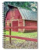 Red Rail Barn Spiral Notebook