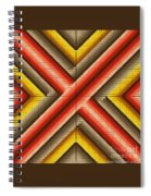 Red Razor Spiral Notebook
