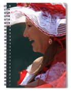 Red Ribbon Bow Spiral Notebook