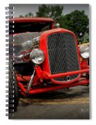 Red Ride 2 Spiral Notebook