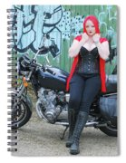 Red Riding Hood Spiral Notebook