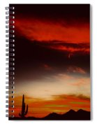 Red Rising Spiral Notebook