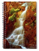 Red River Falls Spiral Notebook