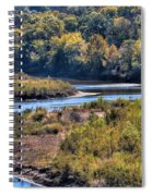 Red River Bend Spiral Notebook