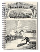 Red River Rebellion, 1870 Spiral Notebook