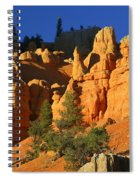 Red Rock Canoyon At Sunset Spiral Notebook