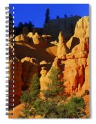 Red Rock Canoyon Moonrise Spiral Notebook