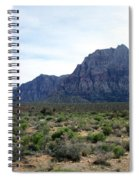 Red Rock Canyon 3 Spiral Notebook
