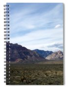 Red Rock Canyon 4 Spiral Notebook