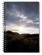 Red Rock Canyon Afternoon Sun Spiral Notebook