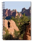 Red Rock Canyon And Garden Of The Gods Spiral Notebook