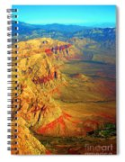Red Rock Canyon Nevada Vertical Image Spiral Notebook
