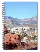 Red Rock Canyon Nv 8 Spiral Notebook