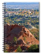 Red Rock Canyon Rock Quarry And Colorado Springs Spiral Notebook
