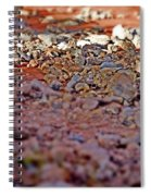 Red Rock Canyon Stones 1 Spiral Notebook