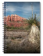 Red Rock Formation In Sedona Arizona Spiral Notebook
