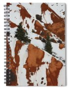 Red Rock Greenery Spiral Notebook