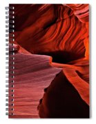 Red Rock Inferno Spiral Notebook