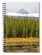 Red Rock Lake Pyramids Spiral Notebook