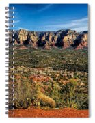 Red Rock Pano Spiral Notebook