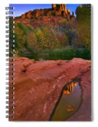 Red Rock Reflection Spiral Notebook