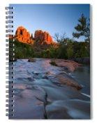 Red Rock Sunset Spiral Notebook