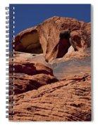Red Rock Texture 2 Spiral Notebook
