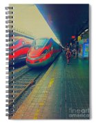 Train To Venice Spiral Notebook