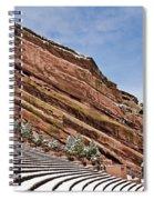 Red Rocks Amphitheater Spiral Notebook