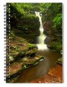 Red Rocks And Lush Green Forest Spiral Notebook