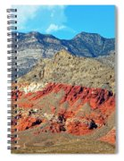 Red Rocks Nevada Spiral Notebook