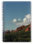 Red Rocks Of Sedona  Spiral Notebook