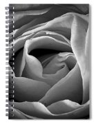 Red Rose In Infrared Spiral Notebook